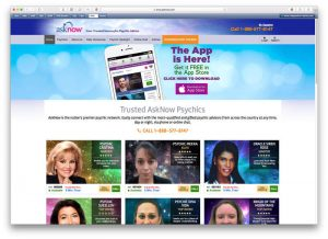 asknow phone psychics and online psychics